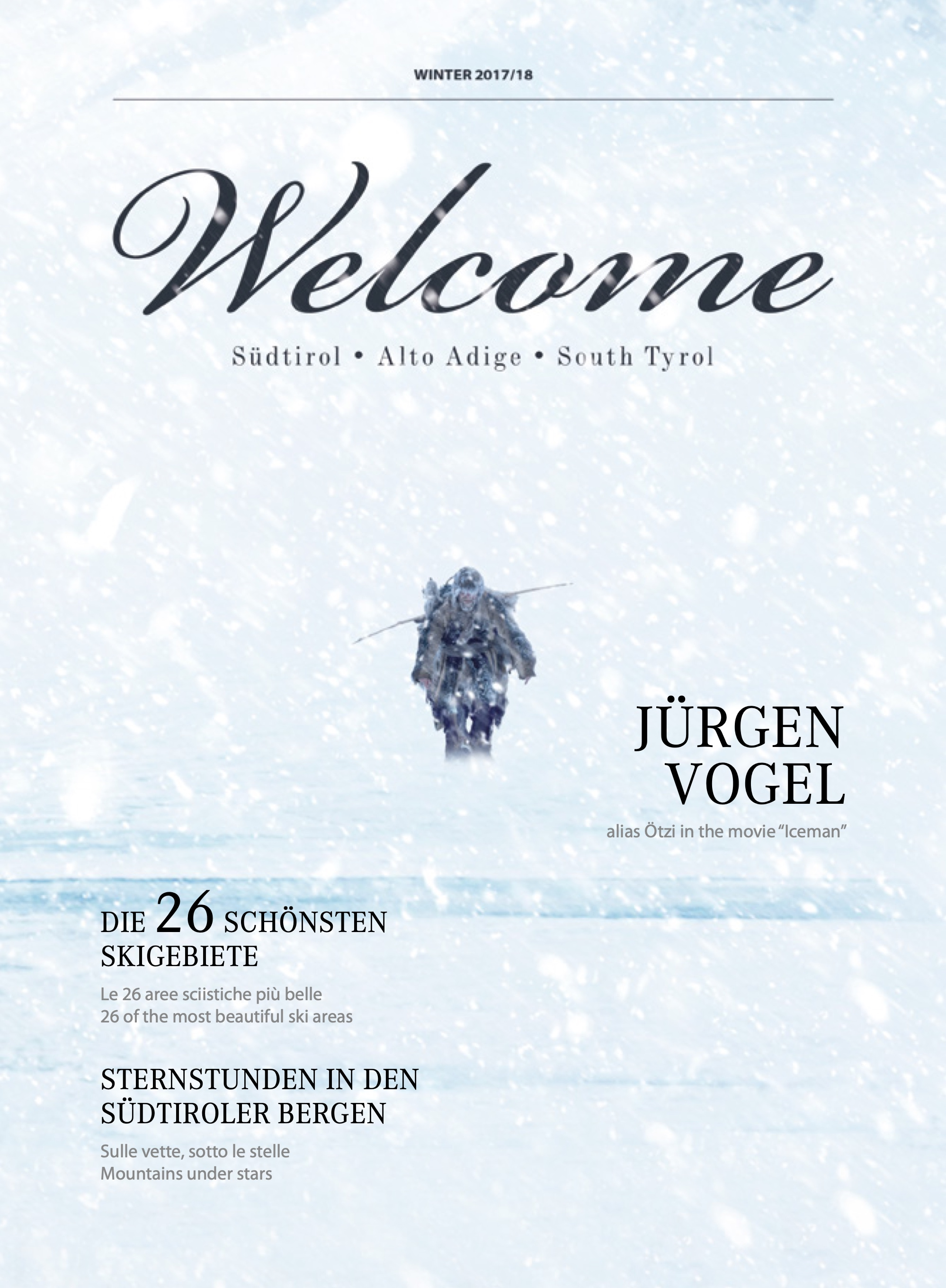 Welcome Magazine | Winter 2017/2018