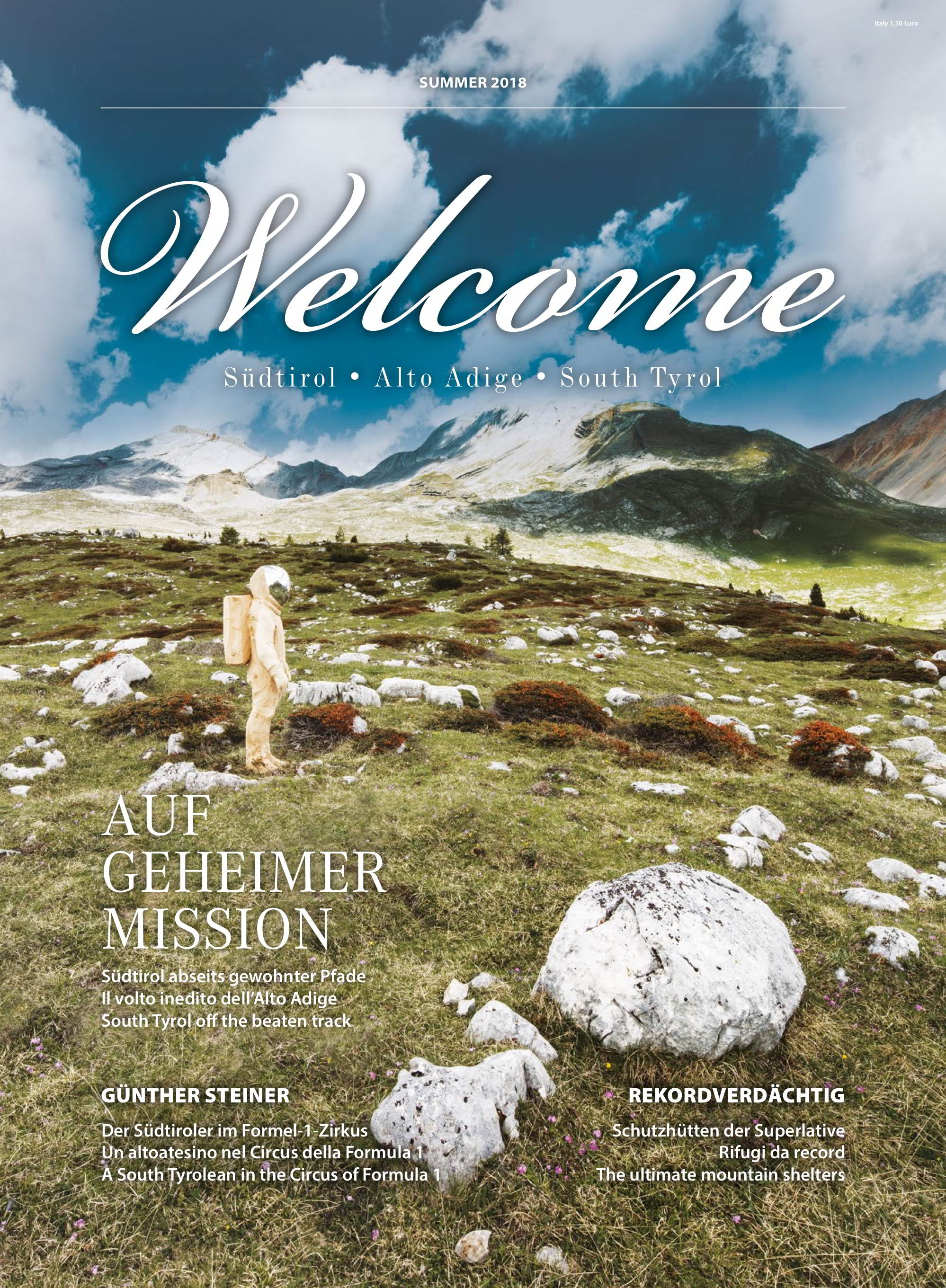 Welcome Magazine | Estate 2018